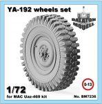 Я-192 колеса для MAC УАЗ модели