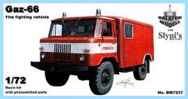 Gaz-66 fire fighting vehicle