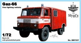 Gaz-66 fire fighting vehicle