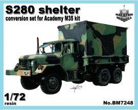 C-280 кунг для Academy модели
