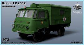 Robur LO2002 Ambulance, 1/72