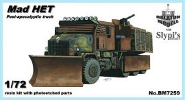 """Mad HET"" post-apocalyptic truck, 1/72"
