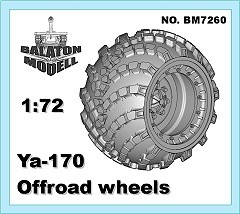 YA-170 wheels set, 1/72