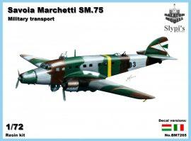 Savoia-Marchetti S.M.75 военный транспорт, 1/72