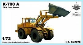 K700A-PK-4 front loader, 1/72