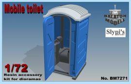 Mobile toilet, 1/72