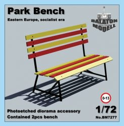 Park Bench (Eastern-Europe, socialist era), 1/72