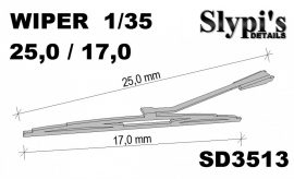 Windshield wiper, 1/35
